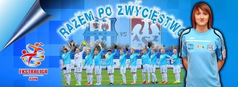 Piłka nożna kobiet: KKP Bydgoszcz - KP Błękitni Stargard