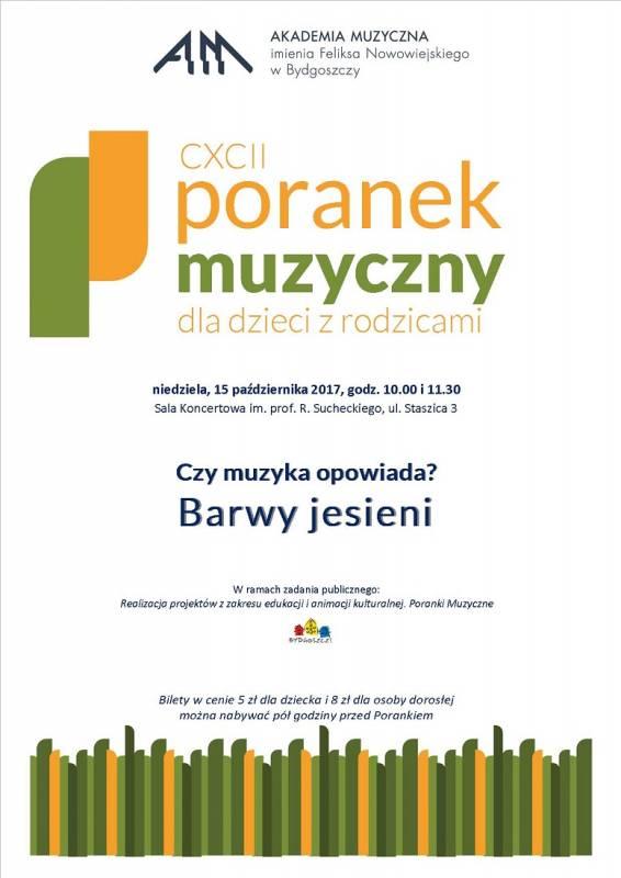 CXCII Poranek Muzyczny dla dzieci z rodzicami