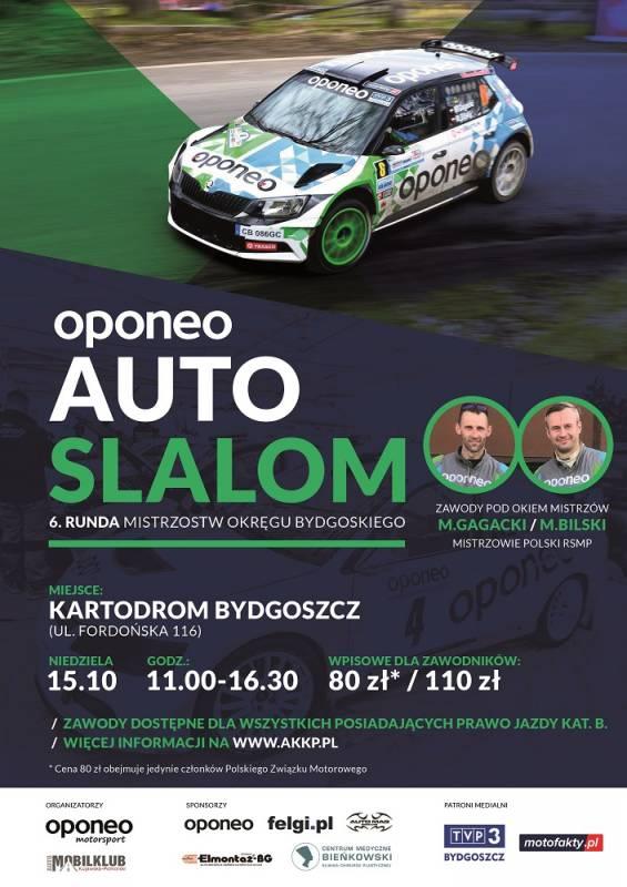 Oponeo Auto Slalom - 6. Runda Auto Slalom MOB