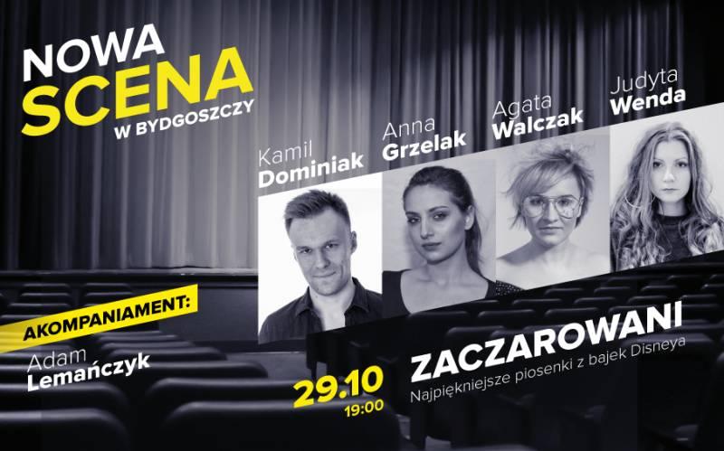 NOWA SCENA w Bydgoszczy: Zaczarowani