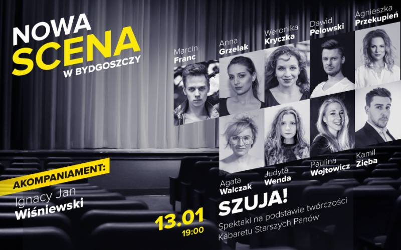 Nowa Scena w Bydgoszczy: Szuja