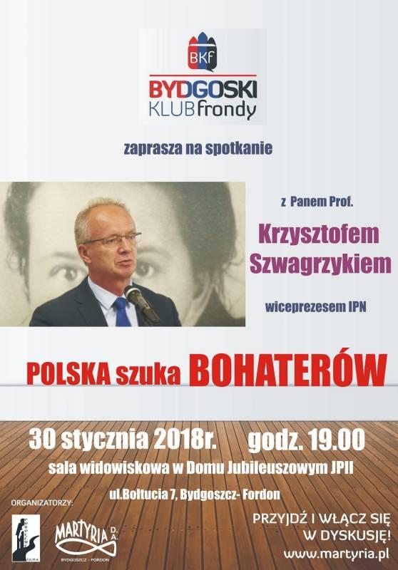 Spotkanie z Prof. Krzysztofem Szwagrzykiem