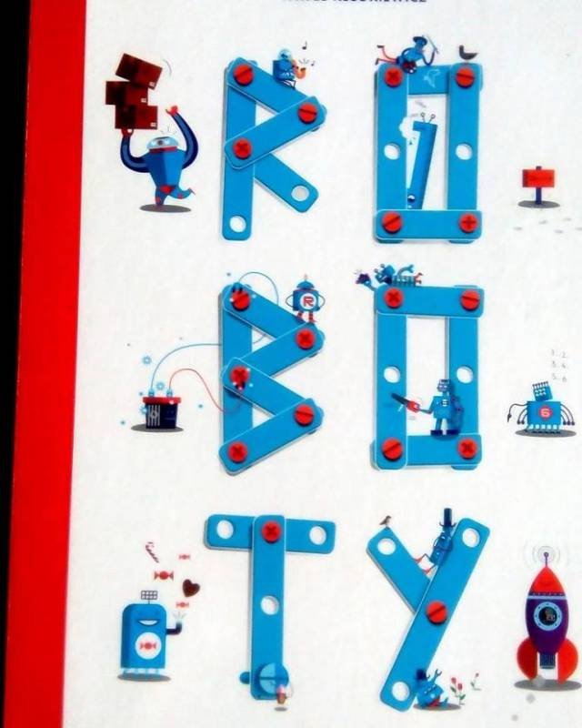Roboty - sensoryczne spotkanie z książkami i najmłodszymi