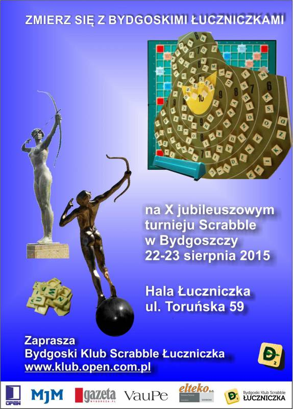 X Jubileuszowy Turniej Scrabble