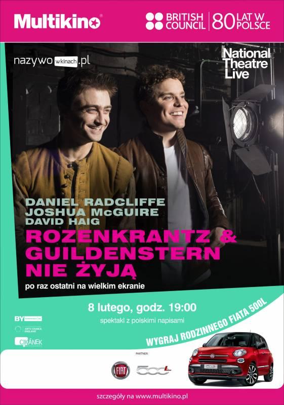 Retransmisja spektaklu: Rozencrantz i Guildenstern nie żyją