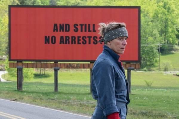 Trzy billboardy za Ebbing, Missouri, reż. Martin McDonagh