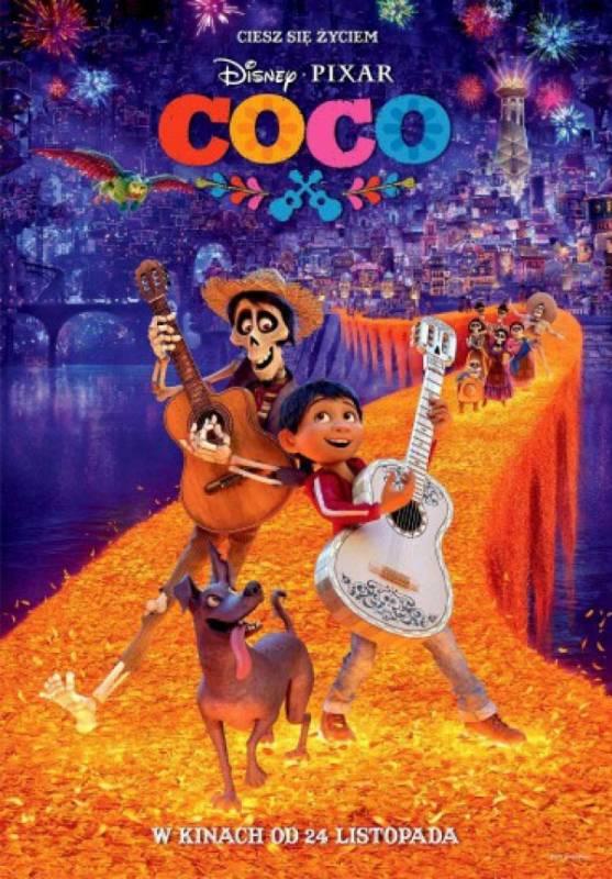 Ferie z Kinem Orzeł: Coco, reż. Lee Unkrich, Adrian Molina