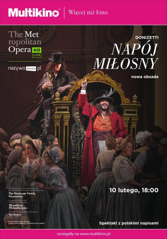 Transmisja opery: Napój miłosny