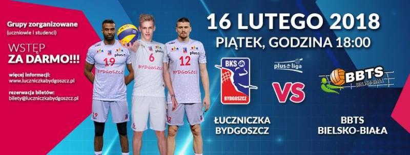 Siatkówka: Łuczniczka Bydgoszcz - BBTS Bielsko-Biała