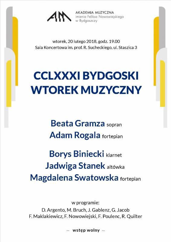 CCLXXXI Bydgoski Wtorek Muzyczny