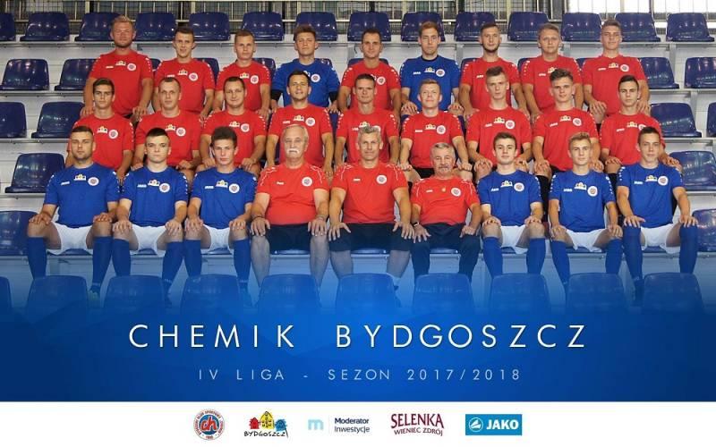 Piłka nożna: Chemik Moderator Bydgoszcz - Chełminianka Chełmno