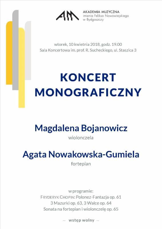 Koncert Monograficzny
