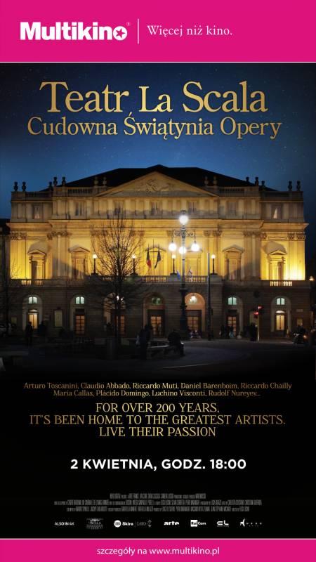 Cykl Wystaw na Wielkim Ekranie: Teatro alla Scala - cudowna świątynia opery