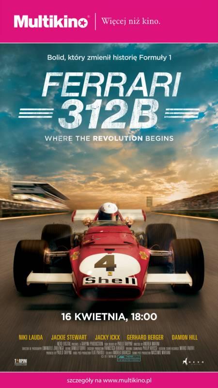 Cykl Wystaw na Wielkim Ekranie - Ferrari 312B