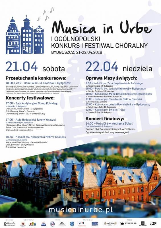 Ogólnopolski Konkurs i Festiwal Chóralny Musica in Urbe