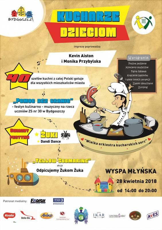 Festyn kulinarno-muzyczny: Pomoc bez granic