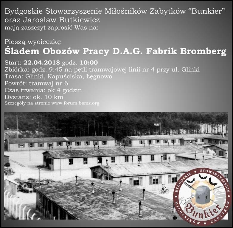 Śladem obozów pracy D.A.G. Fabrik Bromberg