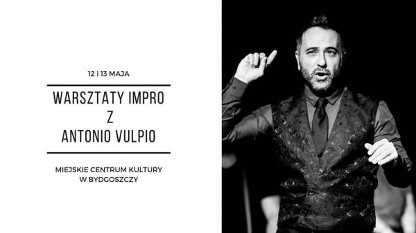 The improvisers body - warsztaty impro Antonio Vulpio