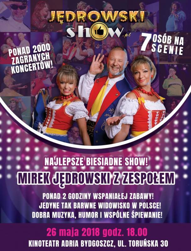 Koncert Jędrowski Show