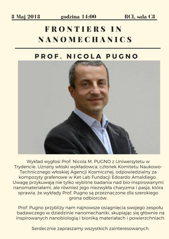 Wykład prof. Nicola Pugno na UTP