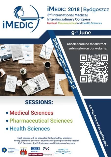 III Międzynarodowy Interdyscyplinarny Kongres Medyczny - iMEDIC 2018