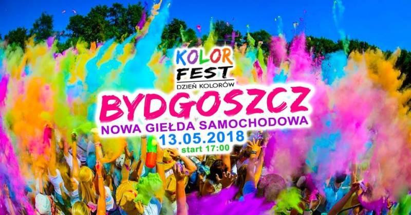 Kolor Fest Bydgoszcz - Dzień Kolorów w Bydgoszczy