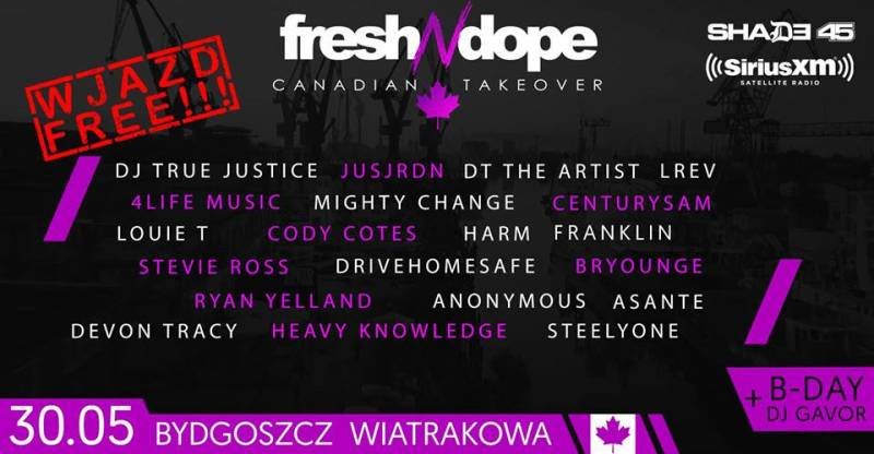 Fresh N Dope Canadian Takeover