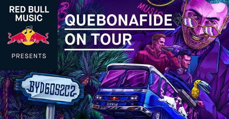 Red Bull Music Presents: Quebonafide On Tour
