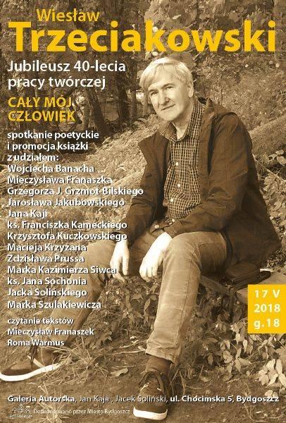 Jubileusz 40-lecia pracy twórczej Wiesława Trzeciakowskiego