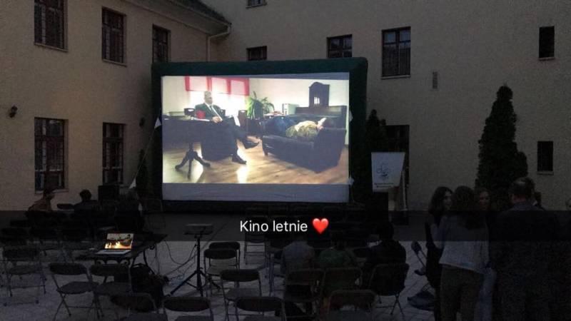 Kino letnie KLAPSa