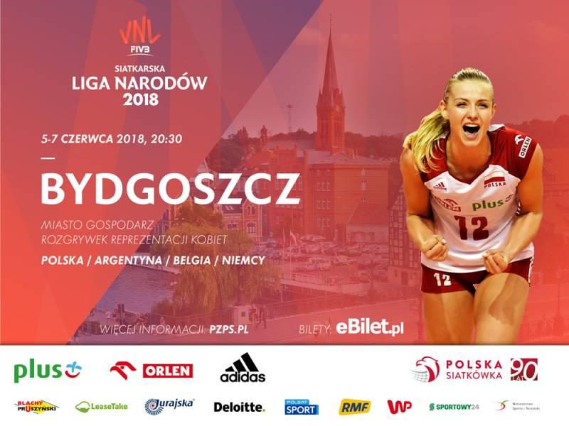 Siatkarska Liga Narodów Kobiet - Polska-Argentyna