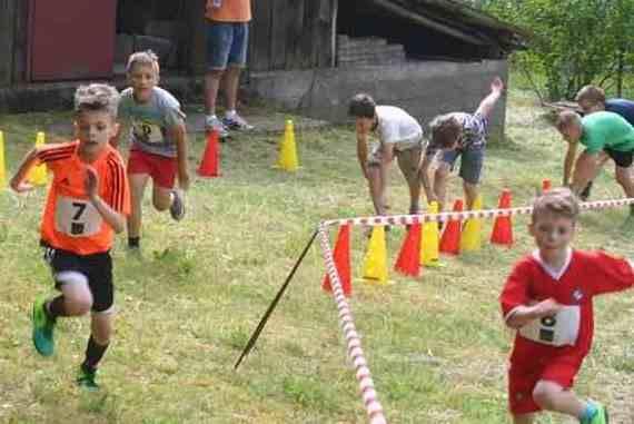 Waleczne Dzieciaki - bieg z przeszkodami