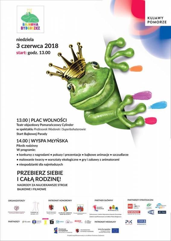 Święto Województwa Kujawsko-Pomorskiego: Bajkowa Bydgoszcz