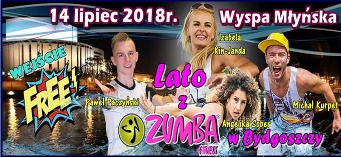 Lato z Zumba Fitness w Bydgoszczy 2018