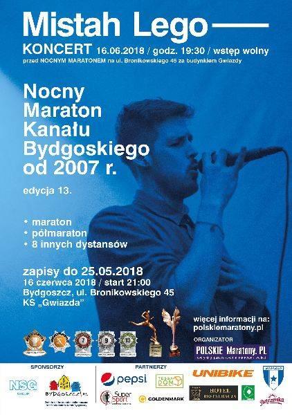 Nocny Maraton Kanału Bydgoskiego - edycja 13