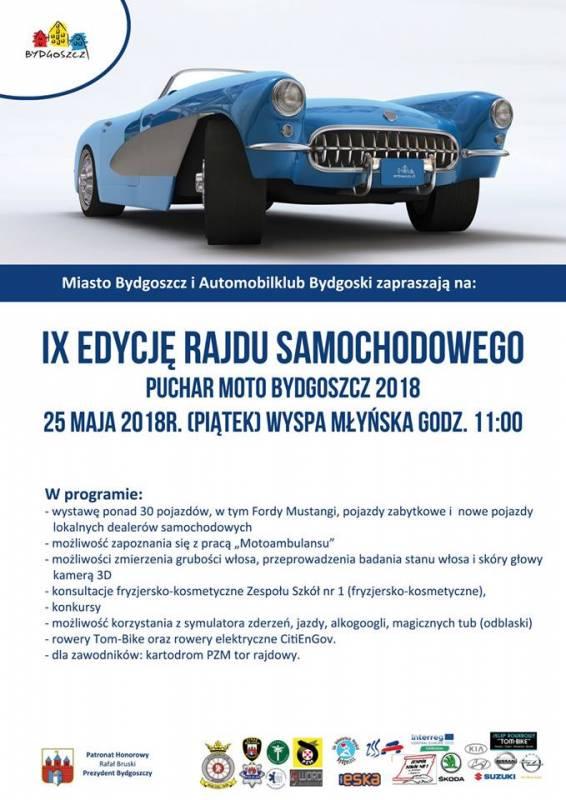 IX edycja rajdu samochodowego Puchar Moto Bydgoszcz