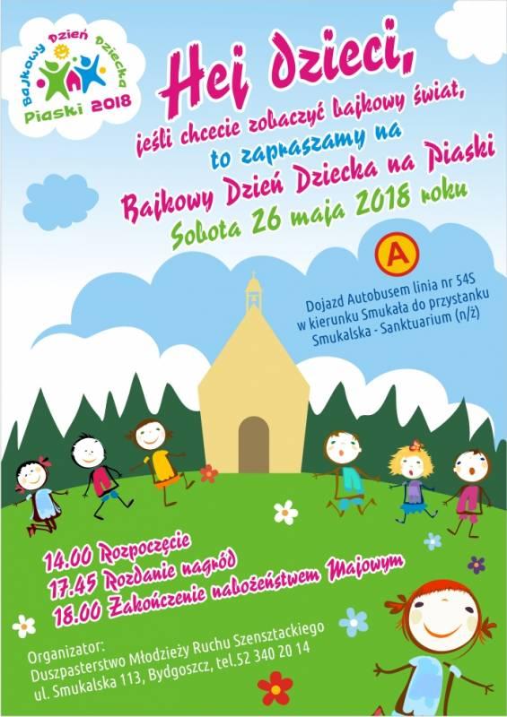 Bajkowy Dzień Dziecka na Piaskach