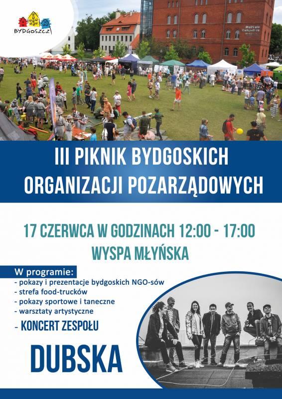 III Piknik Bydgoskich Organizacji Pozarządowych: Dubska