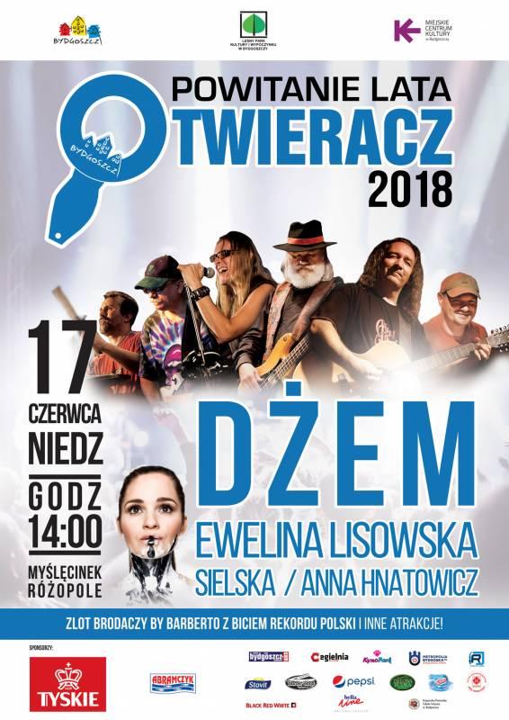 Otwieracz 2018: Dżem, Ewelina Lisowska