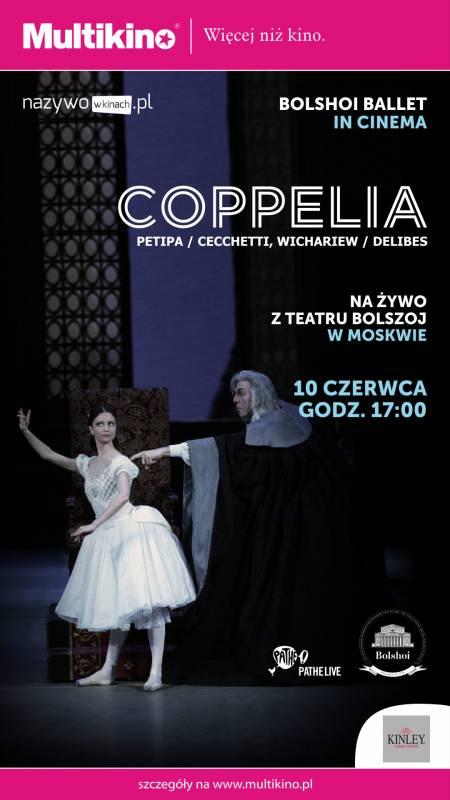 Coppelia z Teatru Bolszoj