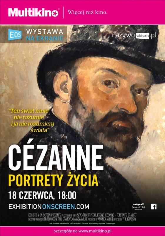 Wystawa na Wielkim Ekranie i wielki Cezanne