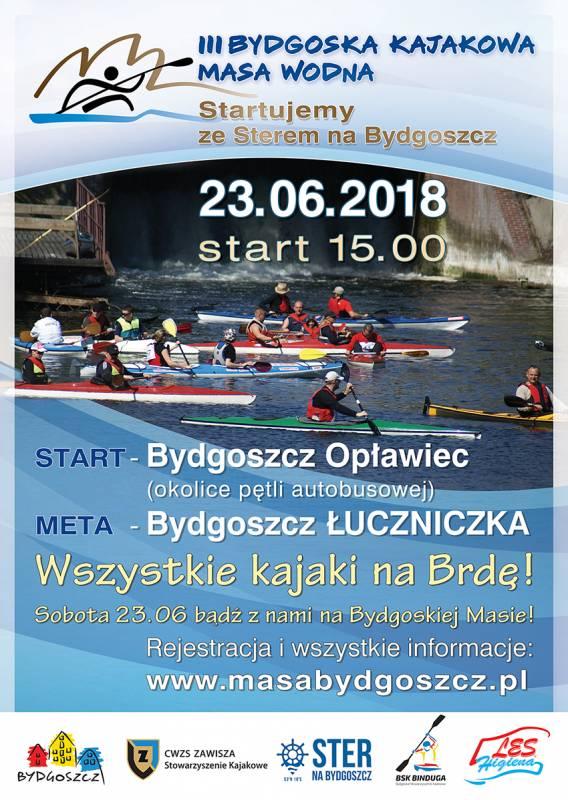 III Bydgoska Kajakowa Masa Wodna 2018