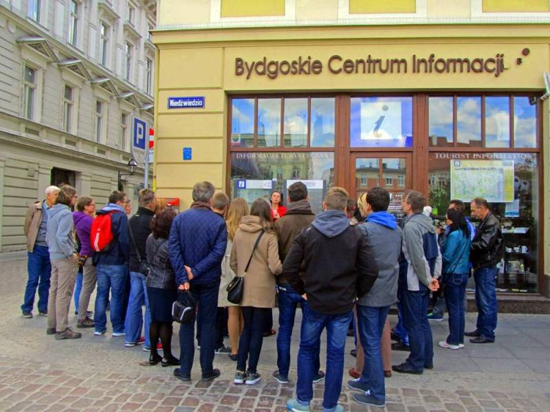 Spacer z przewodnikiem: Przemysłowa Bydgoszcz