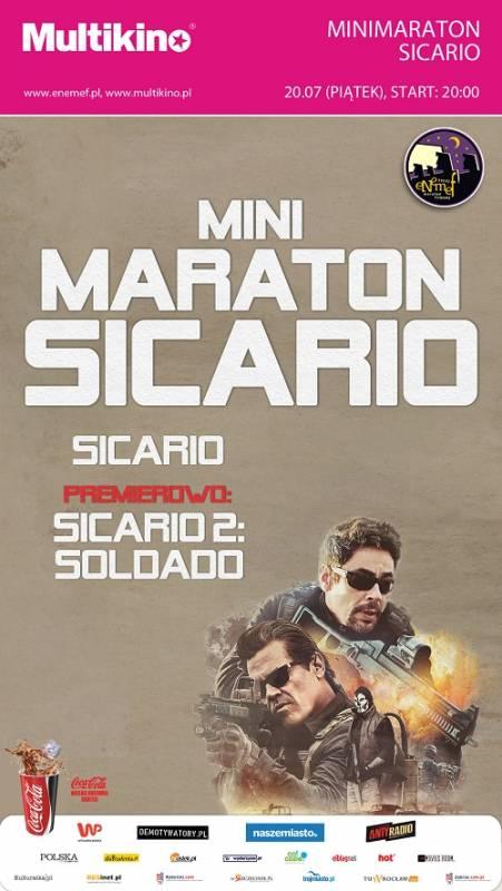 Maraton filmowy ENEMEF: Minimaraton Sicario z premierą Soldado