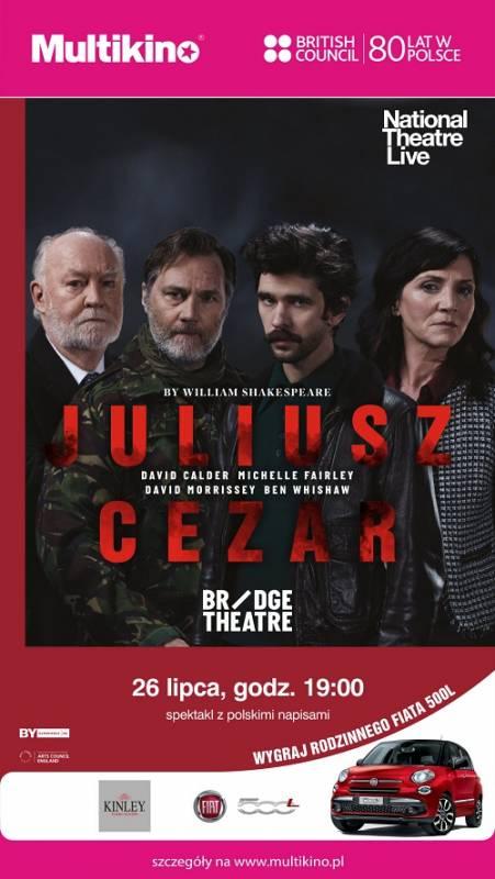 Retransmisja spektaklu: Juliusz Cezar