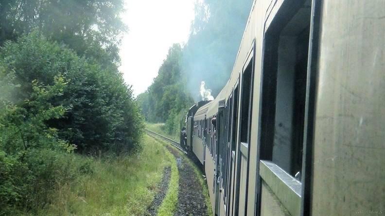 BRDA-pociągiem z parowozem na wycieczkę
