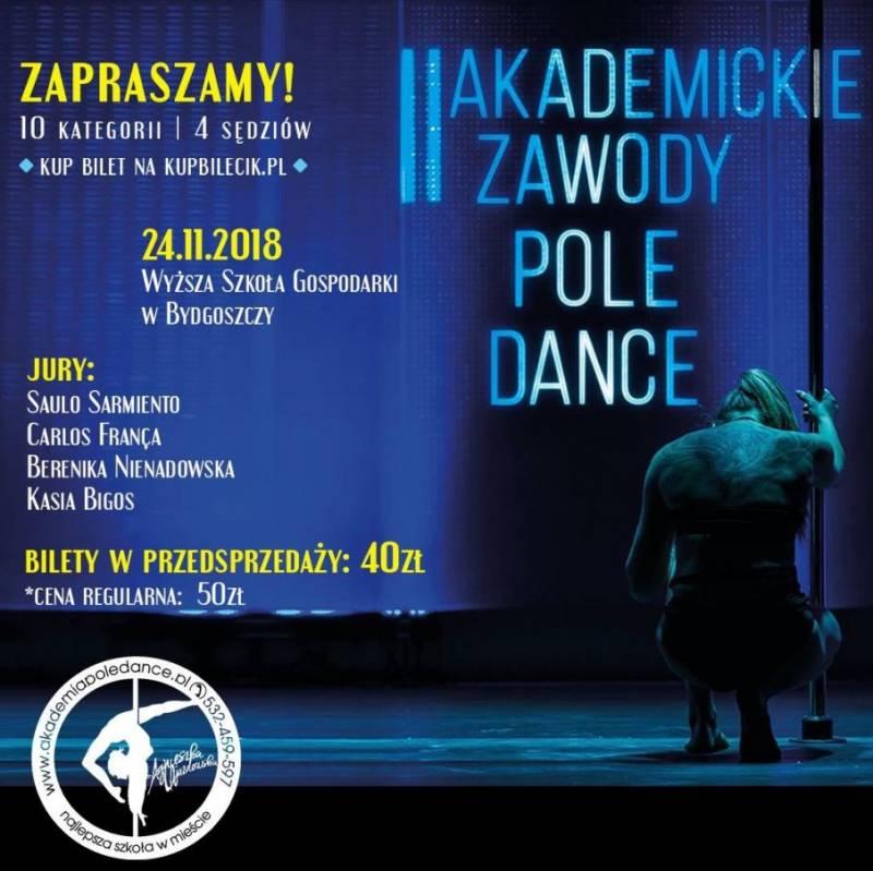 II Akademickie Zawody Pole Dance