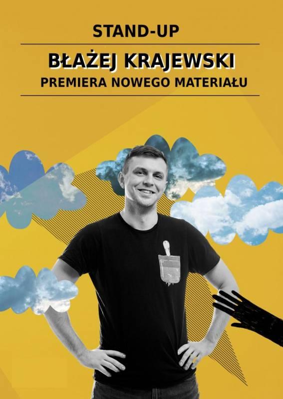 Stand-up: Błażej Krajewski - premiera nowego materiału