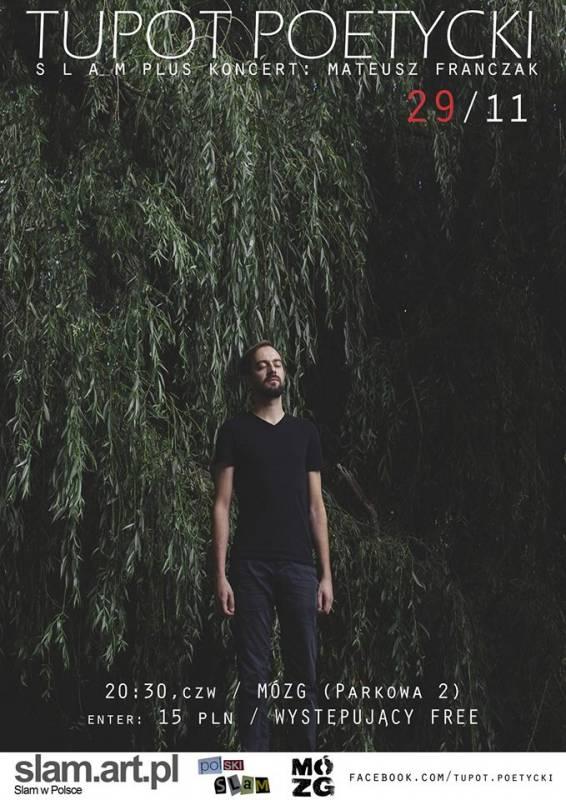 Tupot Poetycki #27 | SLAM + Mateusz Franczak