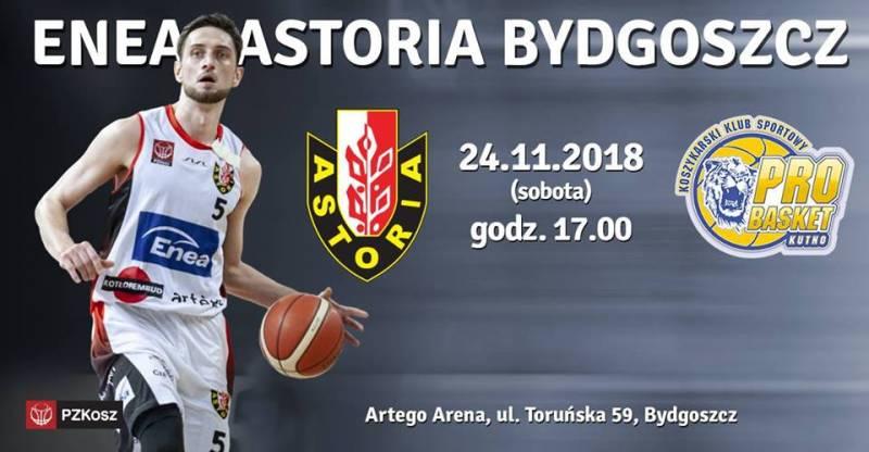 Koszykówka: Enea Astoria - Polfarmex Kutno